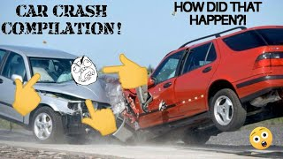 Crazy car crash COMPILATION-Stupid driving FAILS!