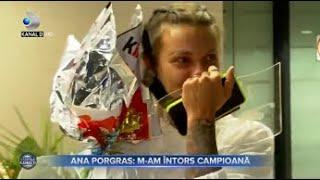 Stirile Kanal D (10.04.2021) - Ana Porgras: M-am intors campioana! | Editie de seara