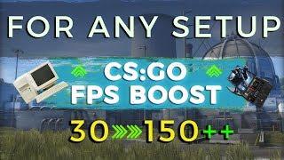CS:GO FPS BOOST FOR ANY SETUP! (2017)
