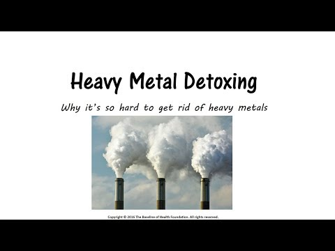 WHY CLEANSE HEAVY METALS: BARRON REPORT - Baseline of Health