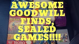 Live Video Game Hunting: my 100th video, Goodwill score and much more!!