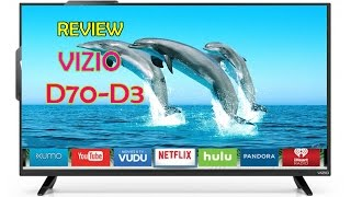 ♫► VIZIO D70-D3 D-Series 70-inch Class Full Array LED Smart TV Review ◄♫