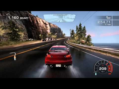 NFS Hot Pursuit - Gameplay on 7950 Full HD