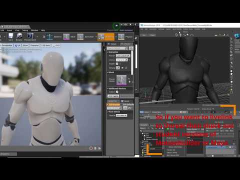 Iclone Live Link To Unreal 4 Another Way To Go Via Autodesk Motionbuilder Maya Free Live Links