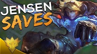 Sneaky & Jensen - JENSEN SAVES THE GAME! - Season 7 Duo Queue Funny Moments & Highlights
