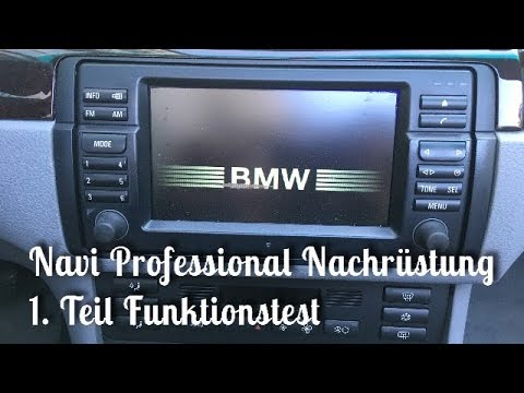 bmw navi professional nachr stung teil 1 bmw e46 youtube. Black Bedroom Furniture Sets. Home Design Ideas