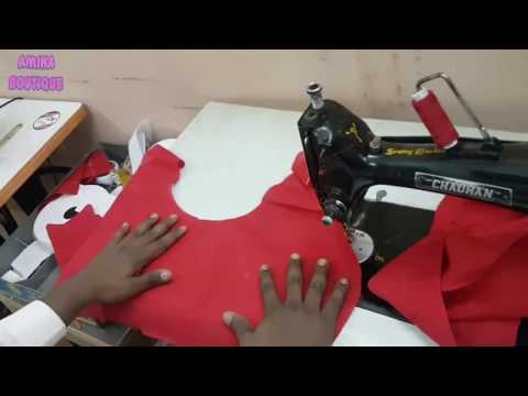 Belt Blouse Stitching in Professional Style