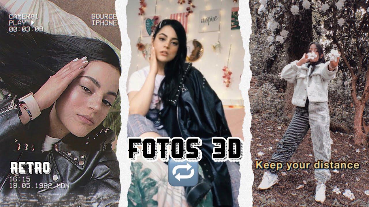 EFECTO DE FOTOS 3D EN EL CELULAR.   VHS   ANDROID y iPhone