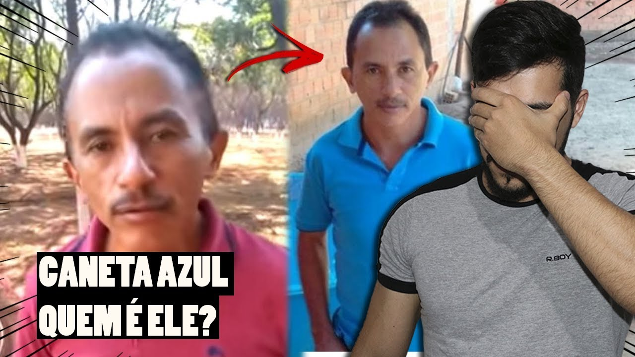 NÃO AGUENTO MAIS ESSE NEGÓCIO DE CANETA AZUL