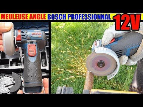 BOSCH GWS 12V-76V Professionnal Meuleuse d'angle sans fil (Parkside PWSA 12V type)