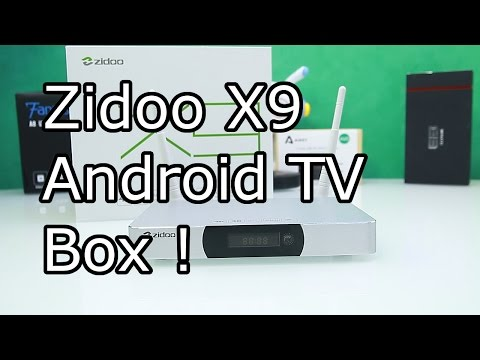 Best Android TV box under 100$ ? - Zidoo X9 Full Review - PVR