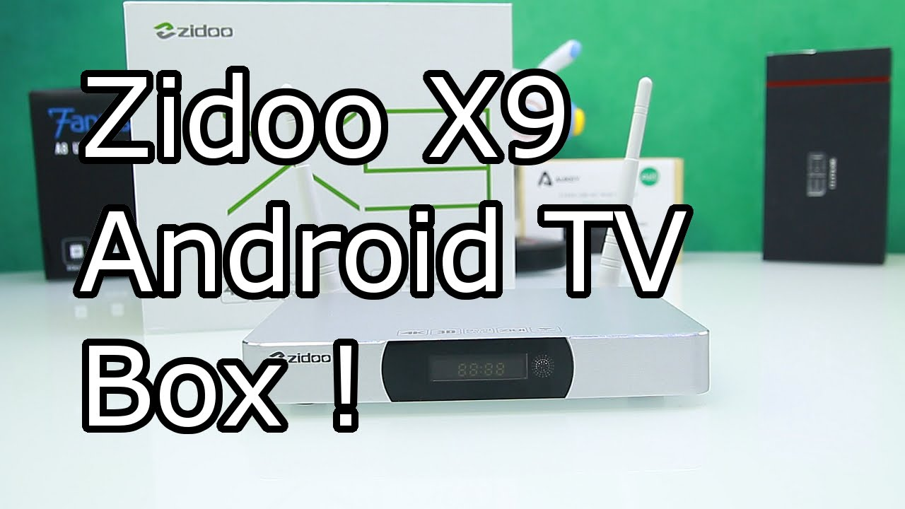 Best Android TV box under 100$ ? - Zidoo X9 Full Review - PVR Feature like  Elgato or Roxio ! [HD]