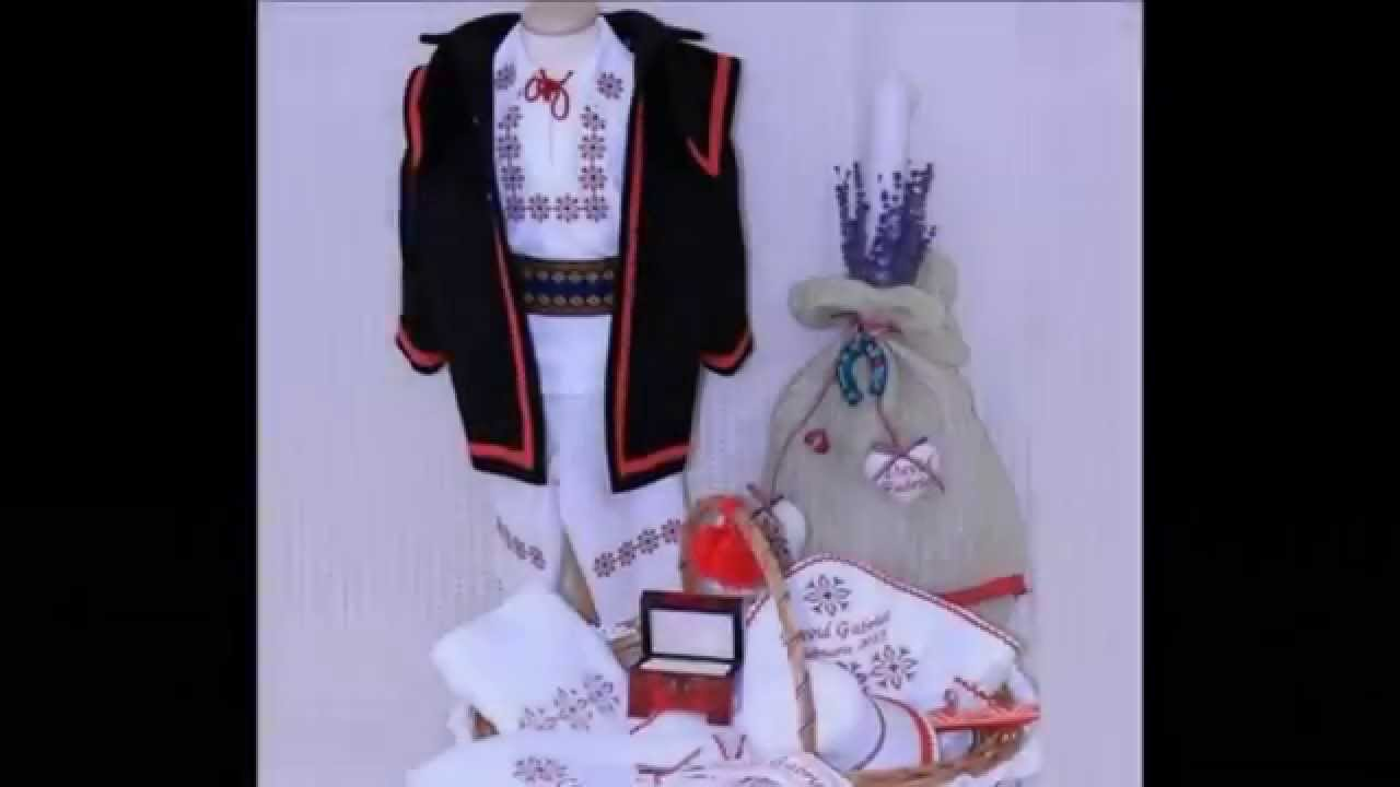 Costum National Botez Atelierele Cris Youtube