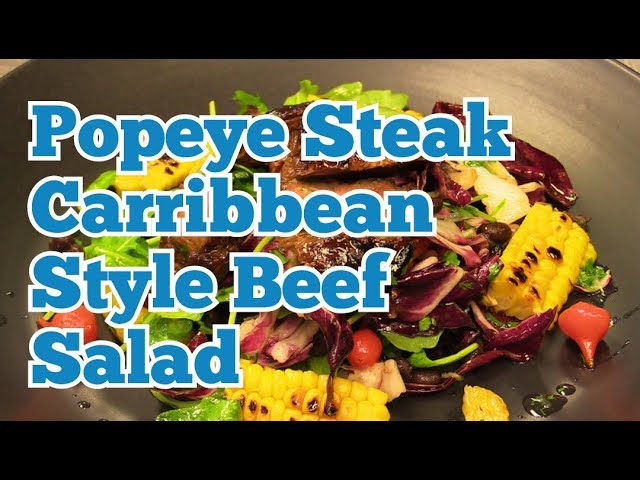 KITCHEN CRAFT - Popeye Steak - Caribbean Style Beef Salad