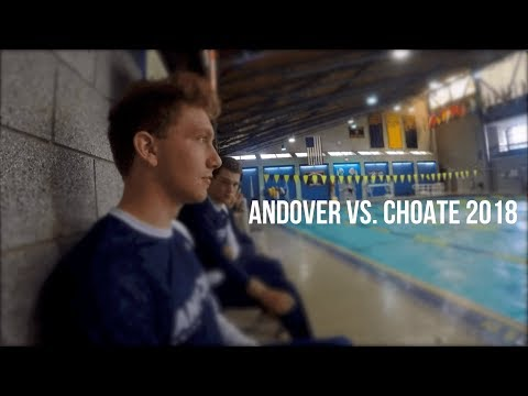 First Meet of the Season! || Phillips Academy, Andover vs. Choate Swimming Hype Video