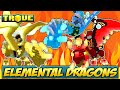 ALL RARE ELEMENTAL DRAGONS ✪ NEW Trove Mantle of Power Primordial Dragon