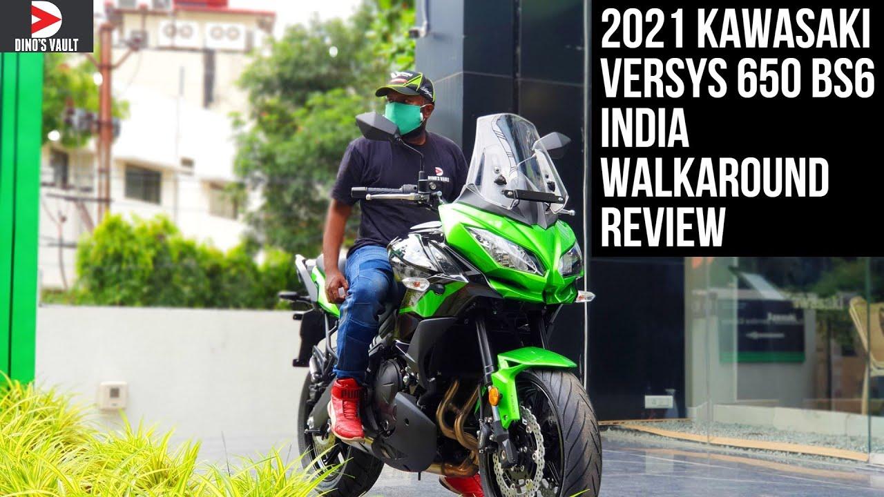 video Kawasaki Versys 650