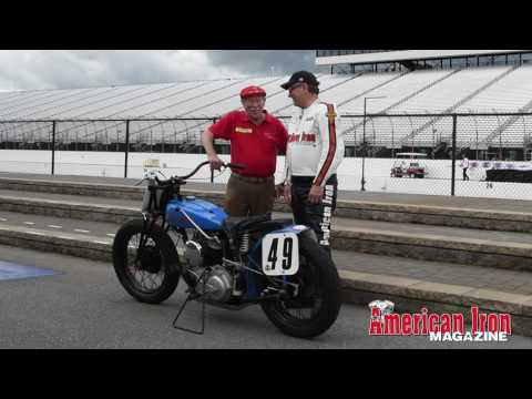 Butch Baer & Buzz Kanter 1937 Classic Indian Scout Racer