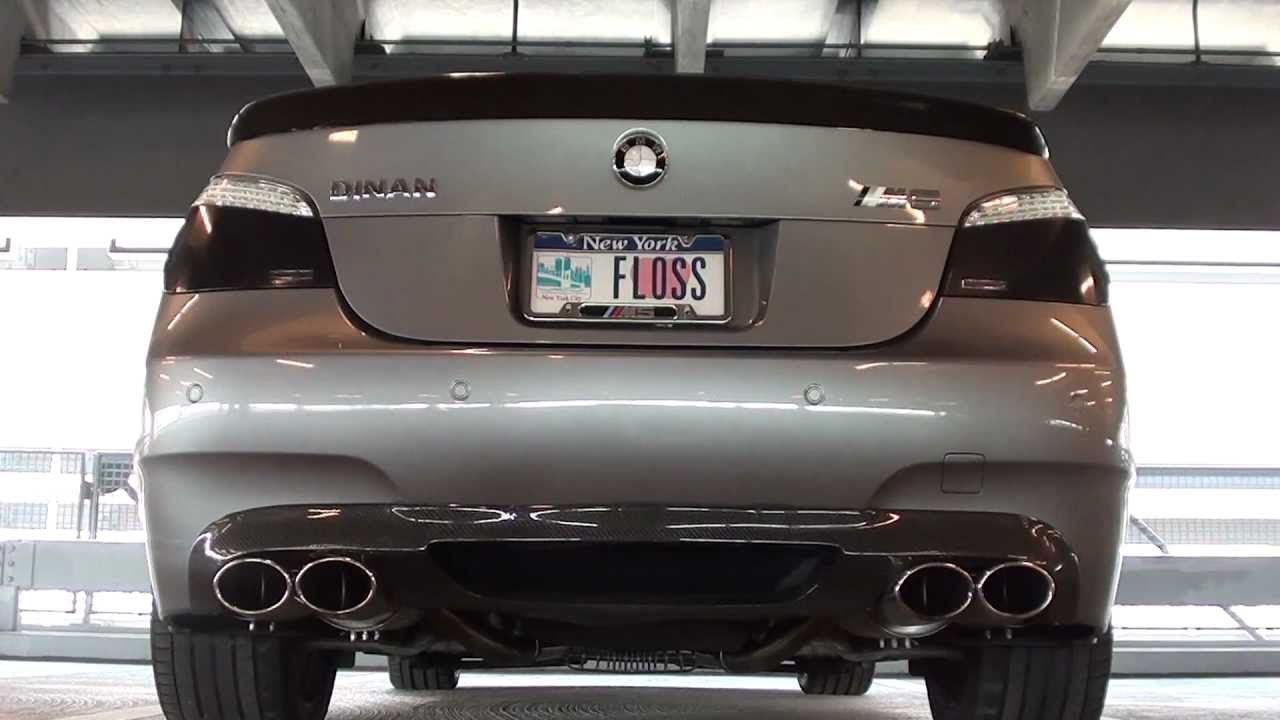 BRUTAL BMW E60 M5 MEISTERSCHAFT EXHAUST Section 1 2 and 3