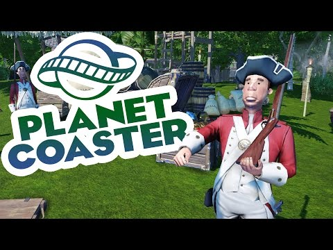 Planet Coaster Alpha 2 Gameplay - Jungle Cruise! - Let's Play Planet Coaster