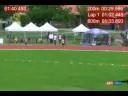 """2008 Canadian Junior T&F Championships W 800m """"A"""" Final w/Splits"""