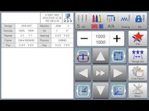 видео: Ricoma RCM MT 7S начало работы вышивальной машины