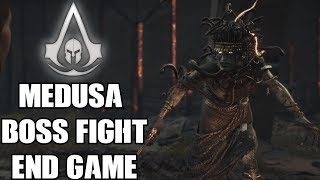 Assassin's Creed Odyssey Medusa Boss Fight 4K Ultra HD - END GAME