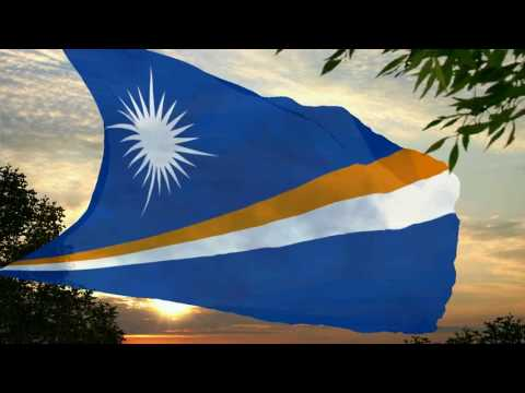 Flag and anthem of Marshall Islands