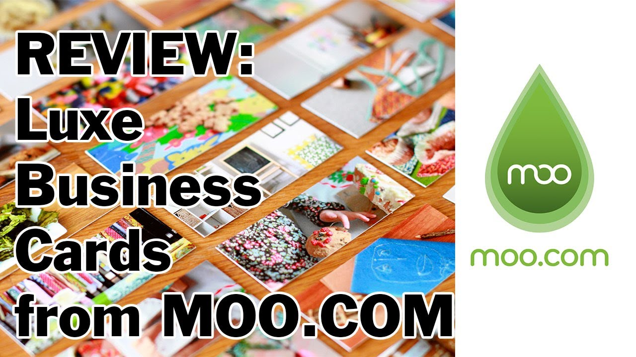 Review luxe business card by moo youtube review luxe business card by moo reheart Image collections