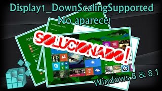 Video Que hacer si en mi PC NO aparece Display1_DownScalingSupported - HD download MP3, 3GP, MP4, WEBM, AVI, FLV Agustus 2018