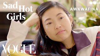 Crazy Rich Asians Star Awkwafina Recalls Her Dating Past | Sad Hot Girls | Vogue
