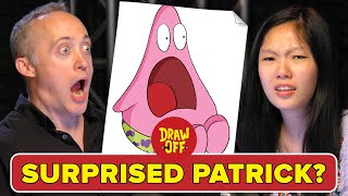 Animator Vs. Cartoonist Draw SpongeBob Memes From Memory • Draw Off