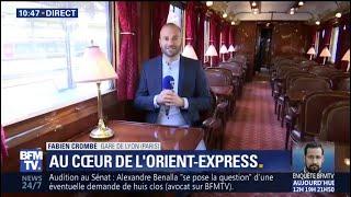 Journées du patrimoine: on vous fait visiter les prestigieux wagons de l'Orient-Express