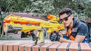 LTT Nerf War : SEAL X Warriors Nerf Guns Fight Criminal Dr Lee Black Pirate Hunter
