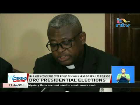 UN raises concerns over rising tension ahead of DRC'S election results