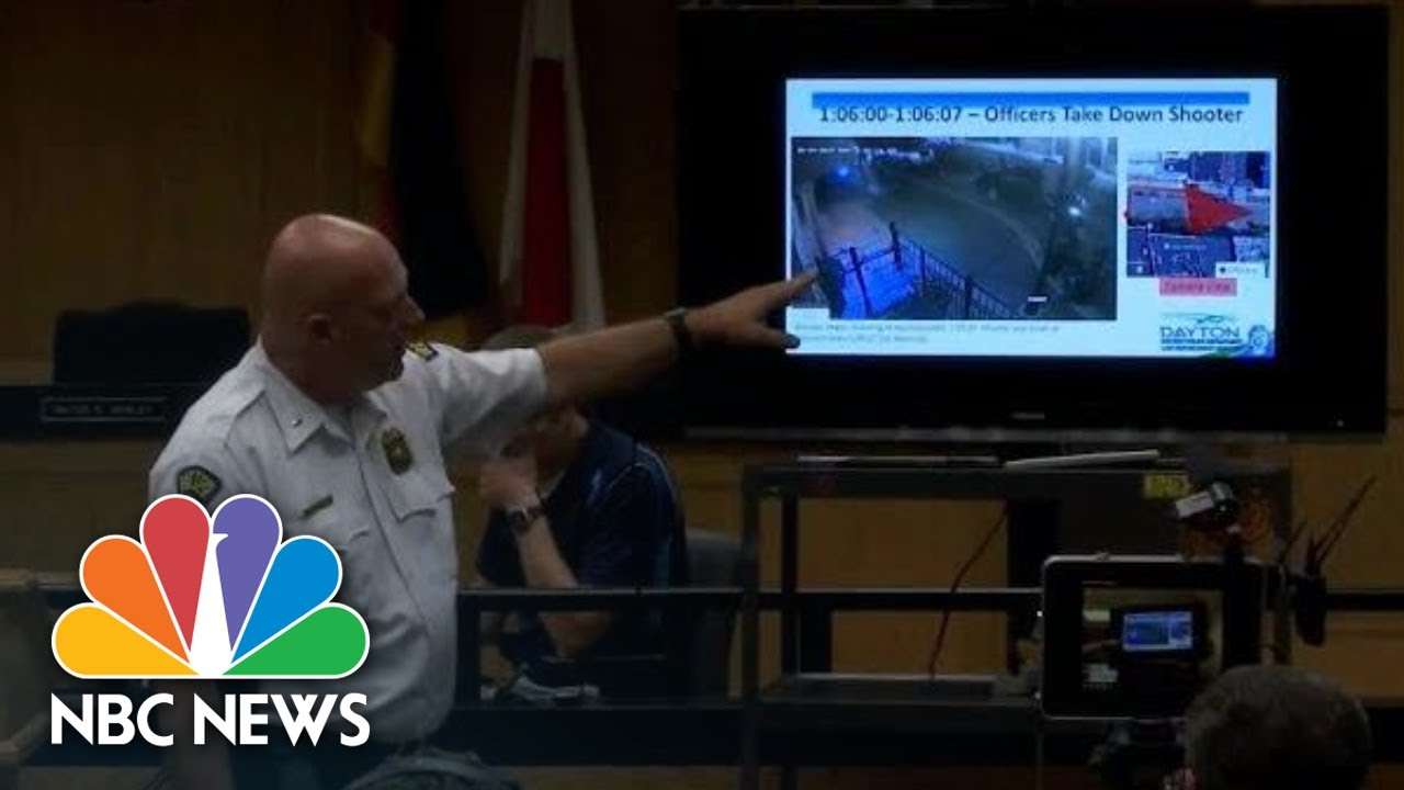 Police Review Dayton Mass Shooting Video Evidence, Frame By Frame   NBC News