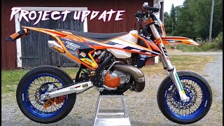 KTM EXC 300 Supermoto Project Update