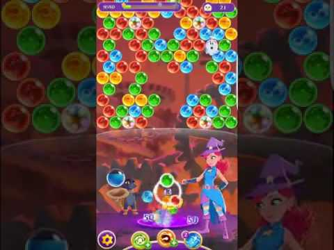 Bubble Witch 3 Saga Level 268 ~ No boosters