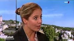 Studiogast Julia Naskrent, FOM Siegen Lokalzeit Südwestfalen Sendung Video Mediathek WDR 23.09.2016