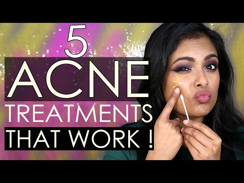 5 ACNE Treatments THAT WORK OVERNIGHT! Indian Skincare, Korean Skincare & DIY