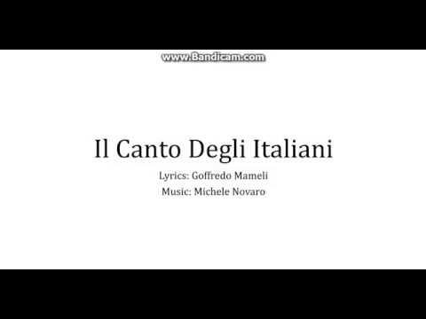 National Anthem of Italy - Il Canto Degli Italiani (Lyrics)