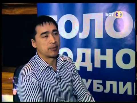 """Раиль Уметбаев в программе """"Попкорн"""" (БСТ-2014)"""