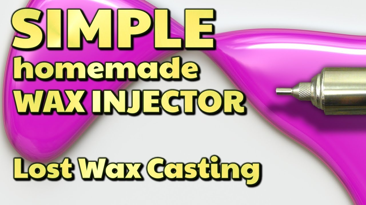 SIMPLE homemade WAX INJECTOR for lost wax casting - by VOG