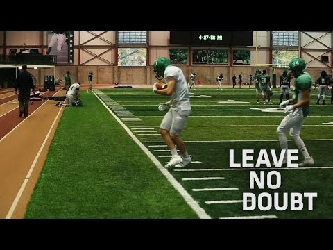 UND football - Leave No Doubt - Pushing Forward