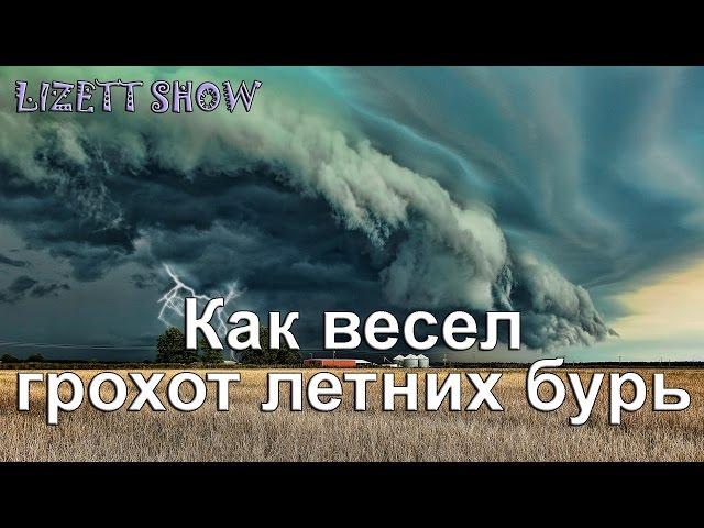 Изображение предпросмотра прочтения – ЕлизаветаМартакова читает произведение «Как весел грохот летних бурь…» Ф.И.Тютчева