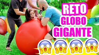 RETO del Globo Gigante! Cómo es estar DENTRO?! Giant Balloon Challenge - SandraCiresArt thumbnail