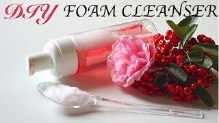 DIY Foam Facial Cleanser (Homemade Face Wash!) Thumbnail