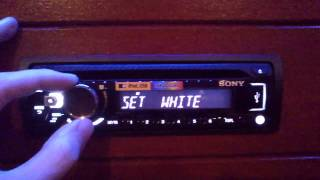 Sony CDX-G3000UV - Functions and look