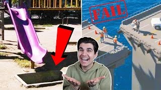 FUNNIEST CONSTRUCTION FAILS!!
