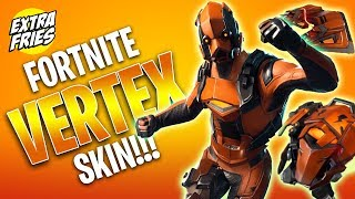 FORTNITE VERTEX SKIN!!!!
